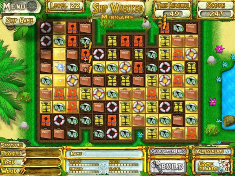 NovaGame.ru - Скриншот Побег из Рая, скачать бесплатно мини игру Побег.