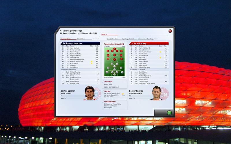 Текущий показываемый скриншот из игры strong em FIFA Manager 10/em/strong п
