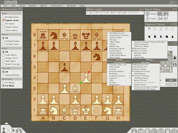 В версии Chessmaster 8000 была введена новая система искусственного интелле