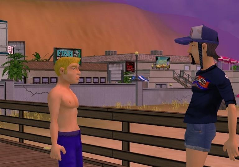 Скриншоты из игры BoneTown скачать через торрент бесплатно.