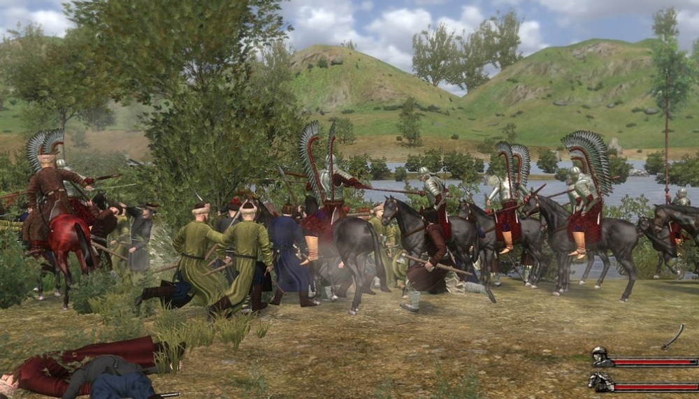 Великие битвы mount & blade with fire & sword ruseng 2011 русский a
