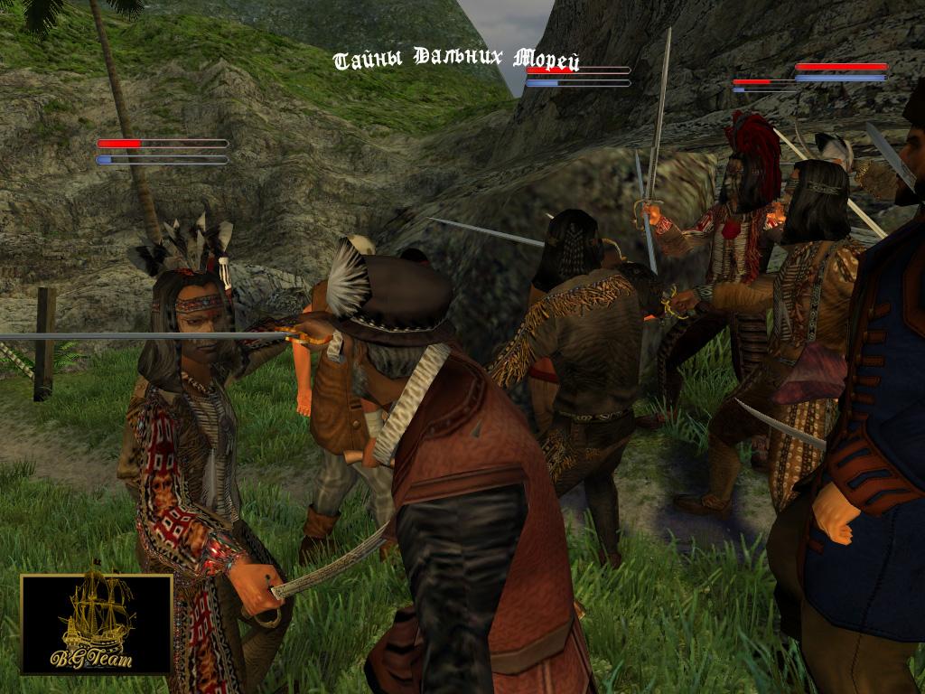 Корсары 3 Тайны Дальних Морей (2009) PC.
