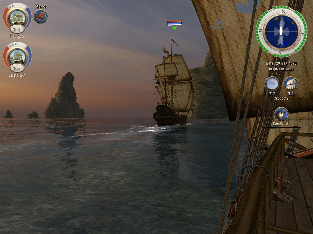 Корсары 3: Тайны Дальних Морей. Перейти к просмотру случайной игры.