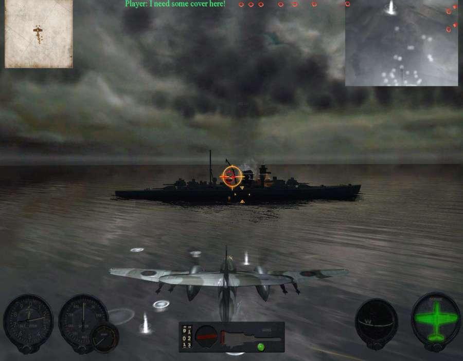 Скриншот 4 из Крылья победы / Combat Wings: Battle of Britain (2007) PC.