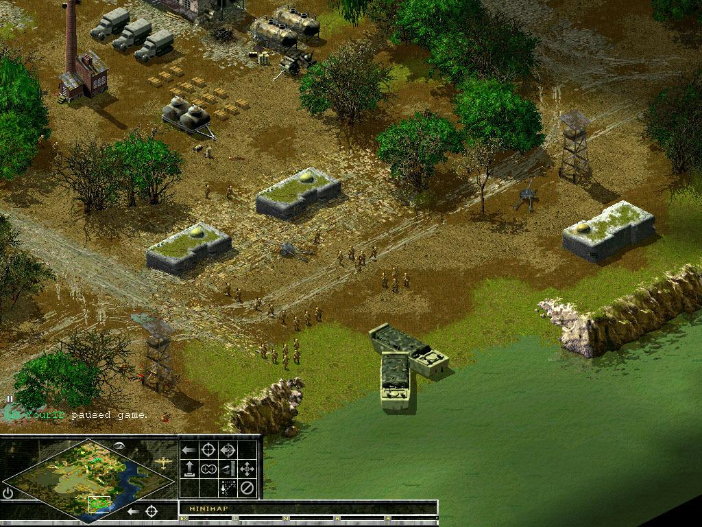 Скриншот из игры Sudden Strike II под номером 3. Перейти к скриншоту strong