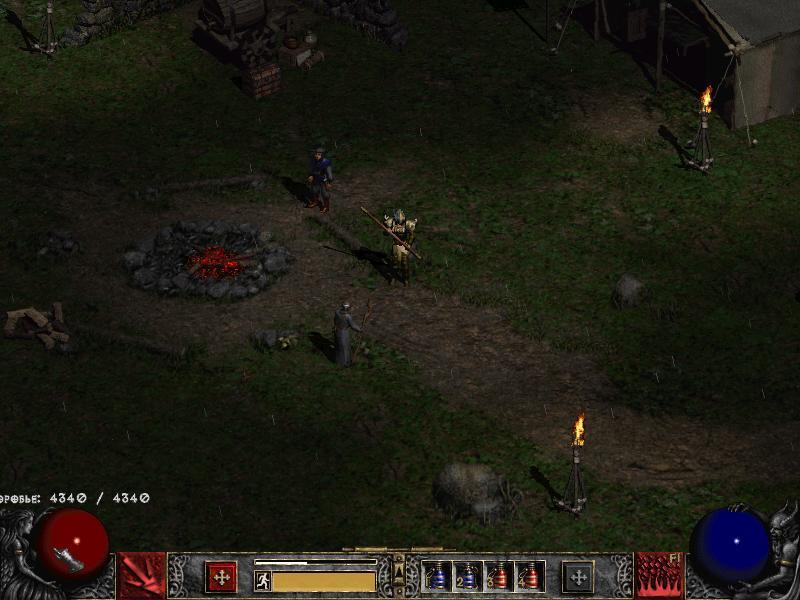 Diablo 2: LoD v1.09d ALL BNET/FSGS Loader патч скачать. Качаем без.
