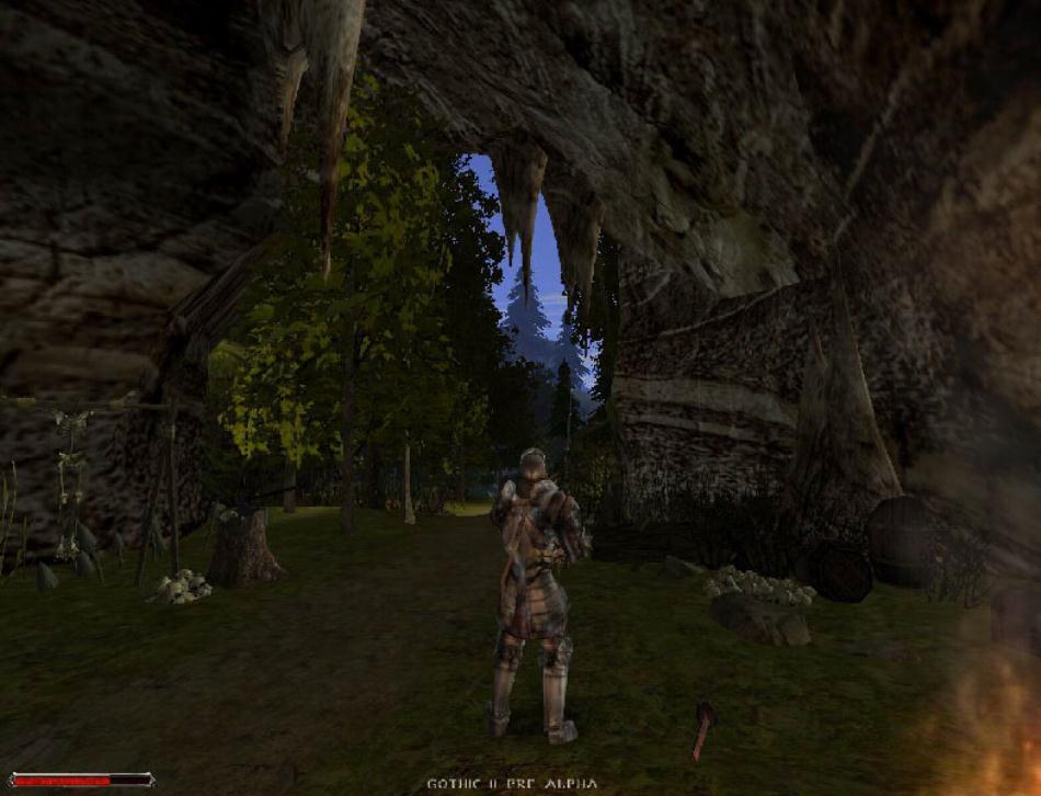 Патчи к игре Gothic 2 Готика 2 + Night of the Raven Ночь Ворона. minecraft