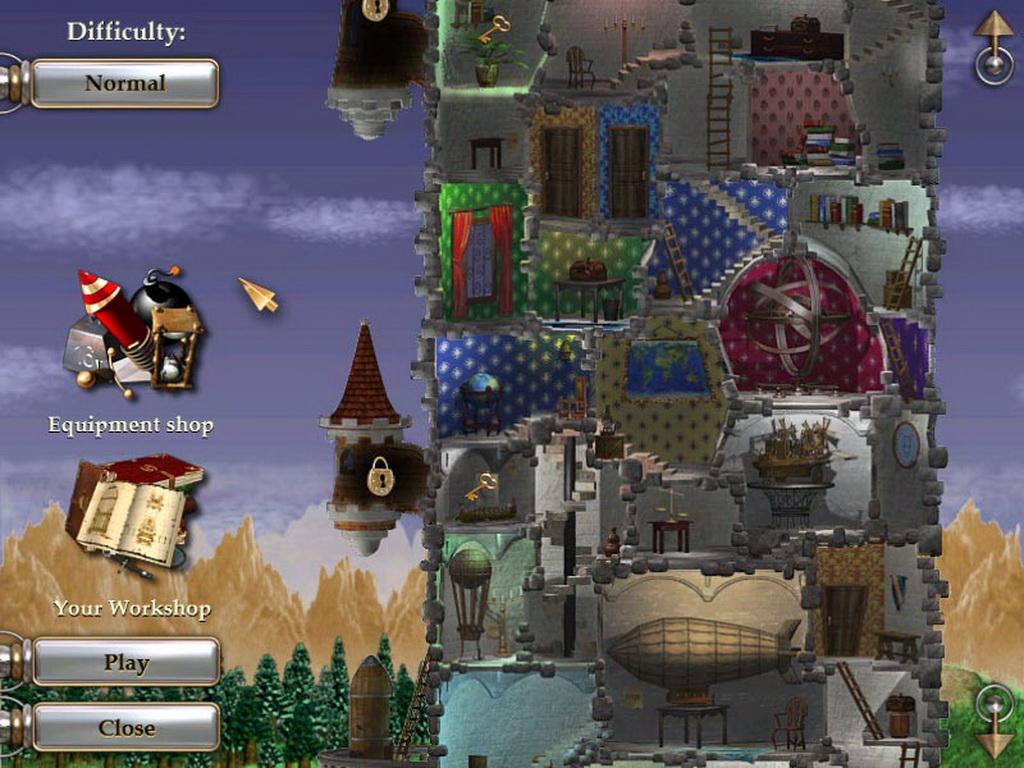 Zodiac Tower - в игре Вам предстоит разгадать тайну старинной