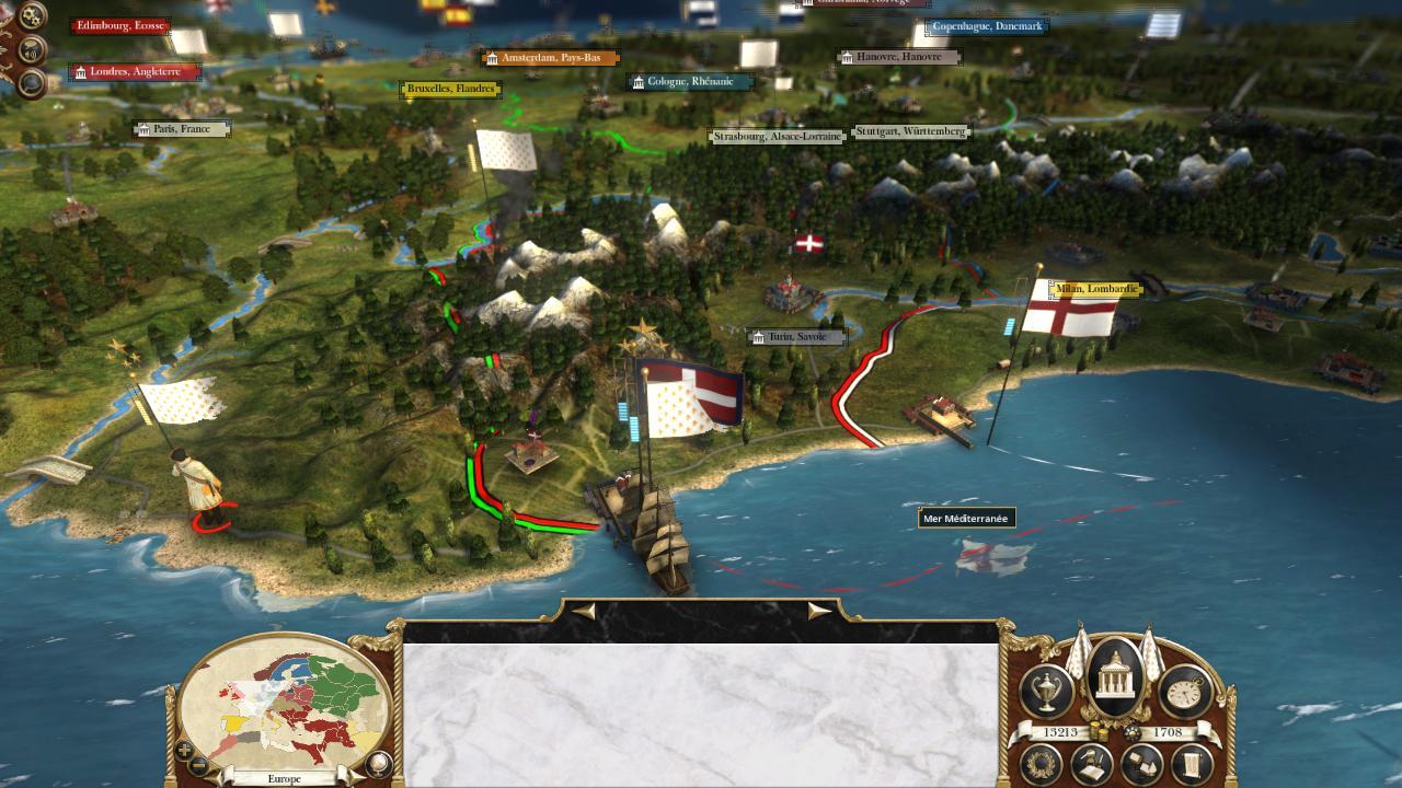 Перейти к просмотру комментариев ВКонтакте. Скриншот из игры Empire 2: The