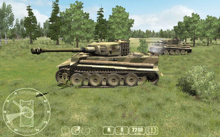 Танки Второй Мировой: T-34 против Тигра
