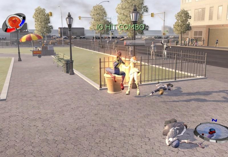 Скачать игру Человек-Паук 3 / Spider-Man 3: The Game (PC/2007/RUS/Re