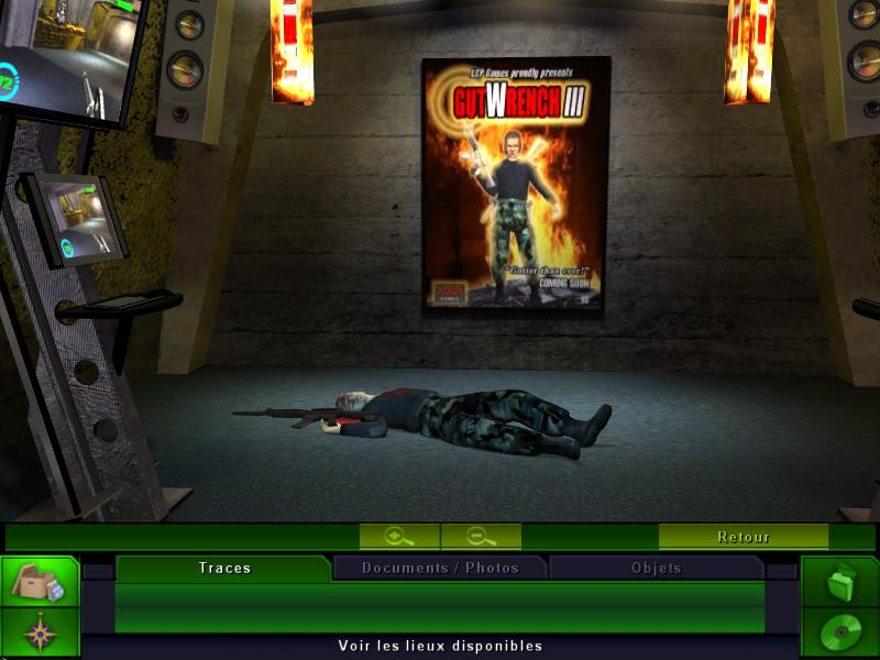Место преступления: Три измерения убийства. Скриншоты.