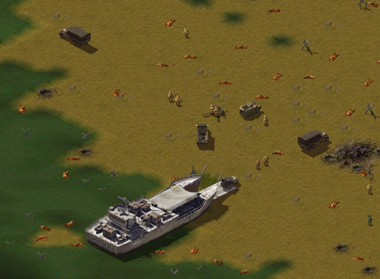 Скриншот из игры Sudden Strike под номером 8. Смотреть полную версию скринш