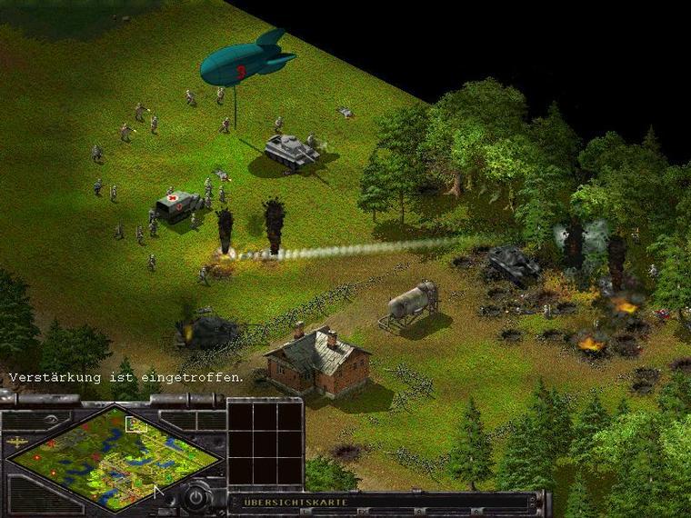 Скриншот из игры Sudden Strike под номером 9. Смотреть полную версию скринш