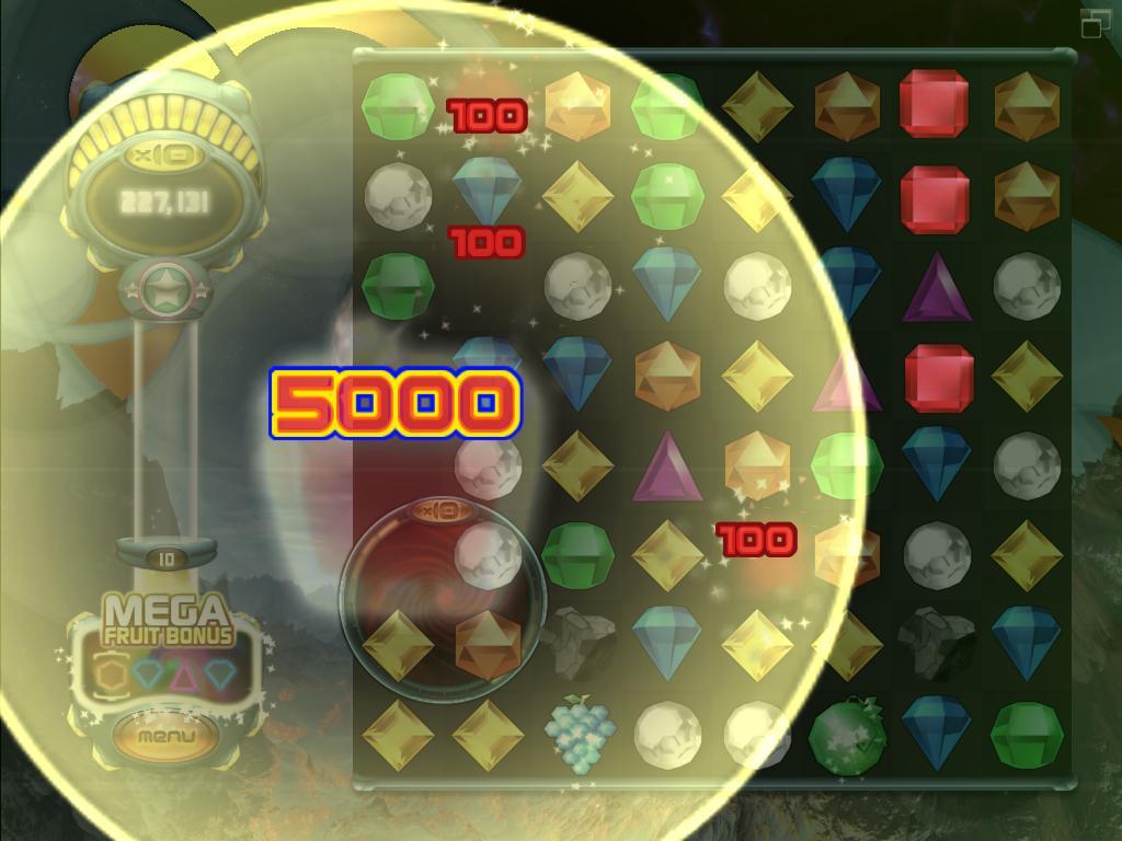 Glittering slots